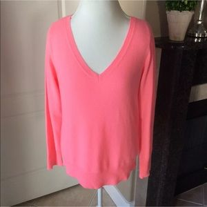 Apt. 9 100% Cashmere Coral Sweater Large | So Soft